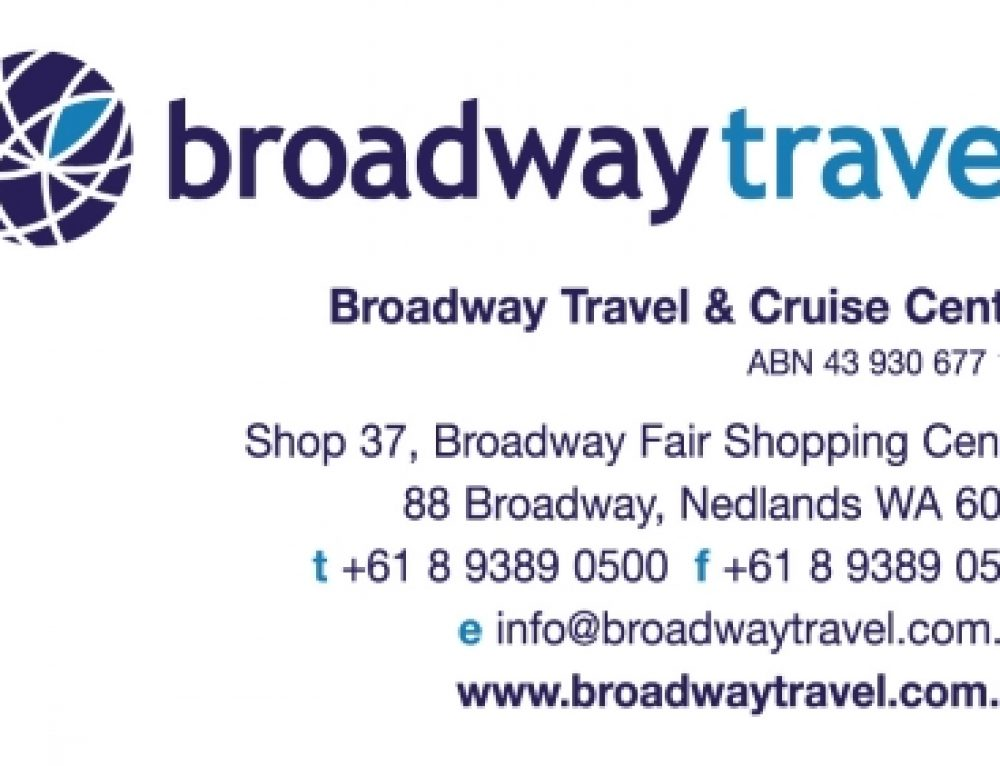 Broadway Travel Holiday Deals.