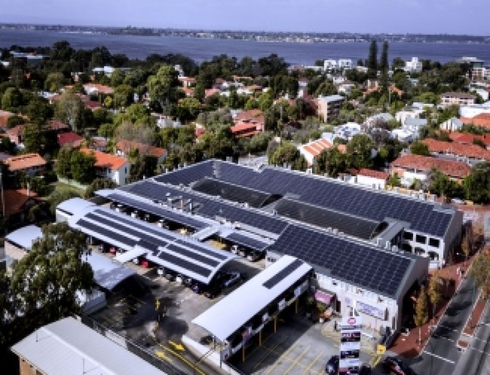 Broadway Fair Solar PV Installation with Infinite Energy