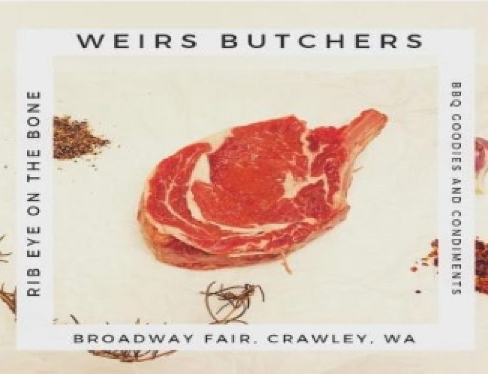 Weirs Butchers : Good Old Fashioned – Ready to Eat – Home Style Prepared Meals Available