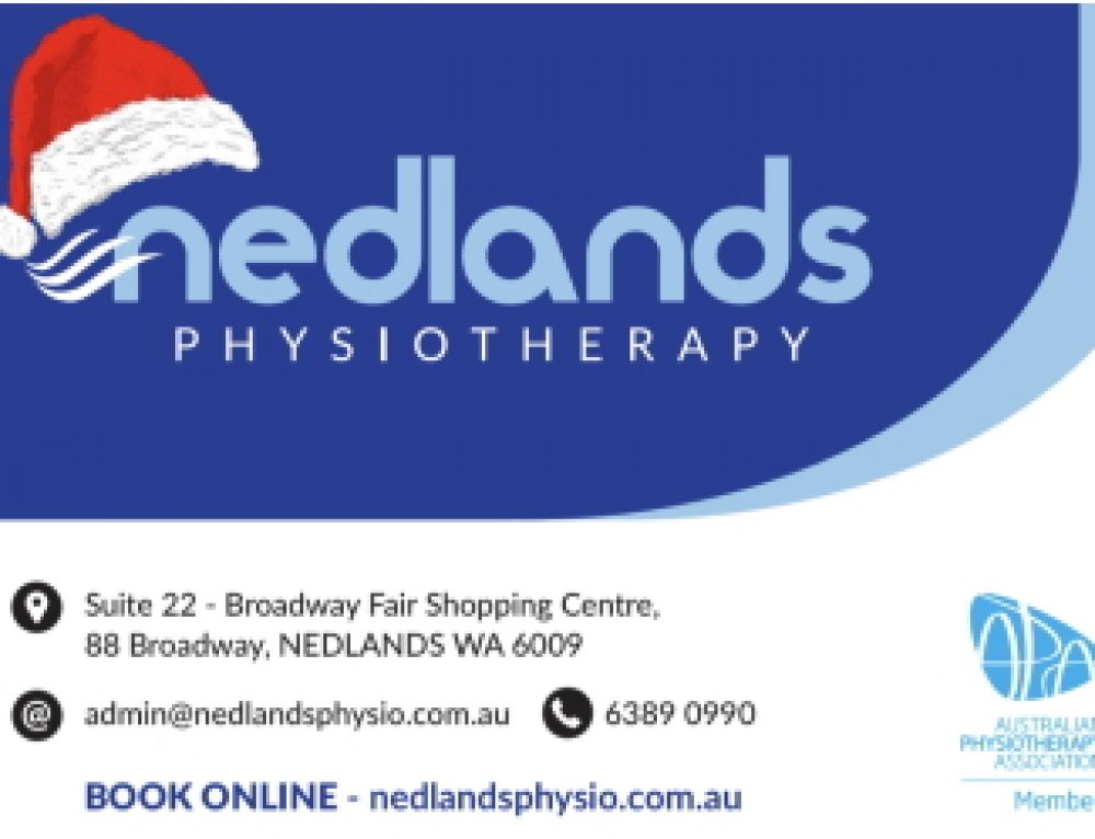 Nedlands Physio's Christmas Special & Gift Vouchers.